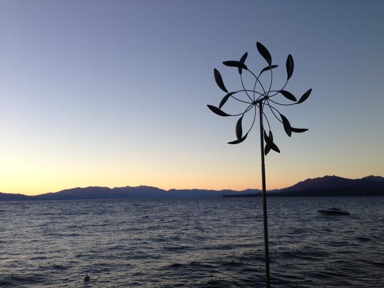 Sunrise over Tahoe